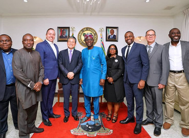 """Official Visit: """"Cooperation in the Lagos Rail Infrastructure & Rail Project"""" Lagos, N"""