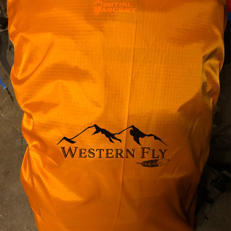 hunter orange pack fly