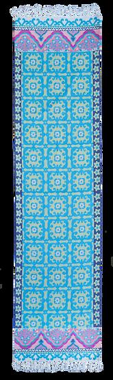 שטיחי מסדרון | שטיח למסדרון | Runner | שטיחים לפרוזדור | שטיח תכלת למסדרון
