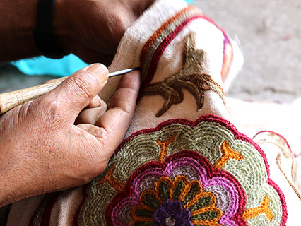 Embroidering the Design