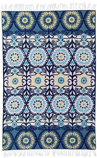 שטיח צמר 40 אפור