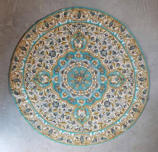 שטיח צמר עגול 15