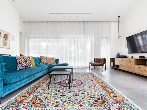 שטיחים מלבניים בעבודת יד מצמר אוסטרלי