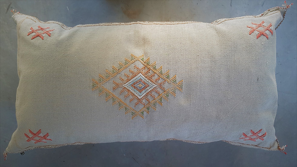 כרית סברה מרוקאית זוגית-גוון אבן