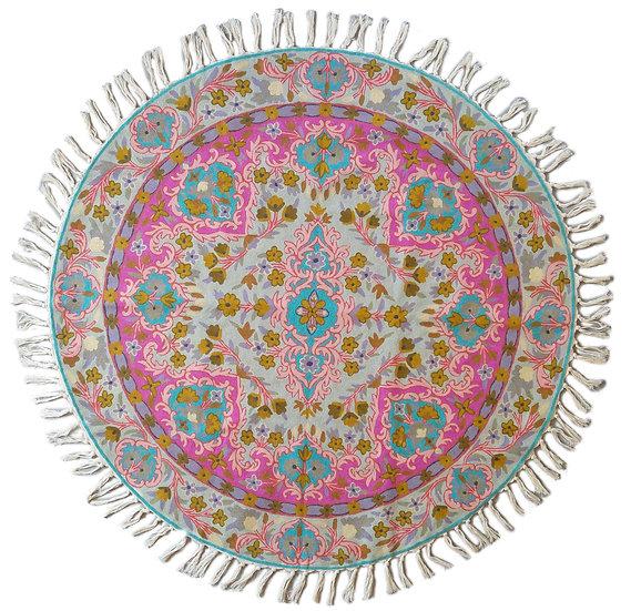 שטיח צמר עגול 24