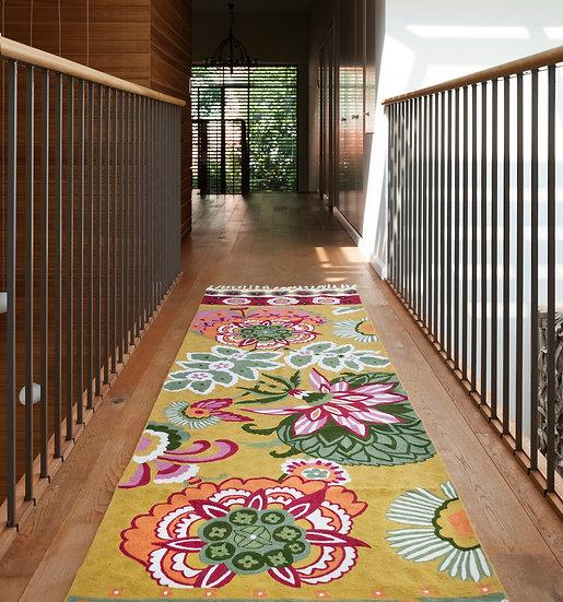 שטיחי מסדרון | שטיח למסדרון | Runner | שטיחים לפרוזדור |שטיח מסדרון פרחוני