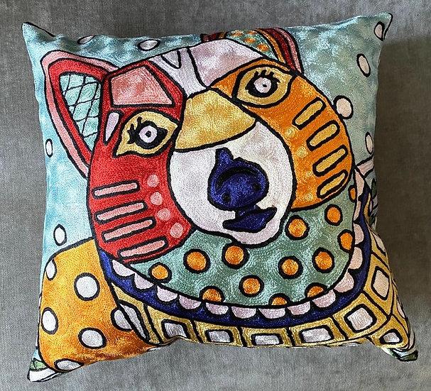 כלב צבעוני