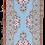 שטיחי מסדרון | שטיח למסדרון | Runner | שטיחים לפרוזדור | ראנר תכלת פרחוני
