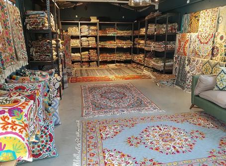 חנות שטיחים עם שירות ומכירה בגוש דן
