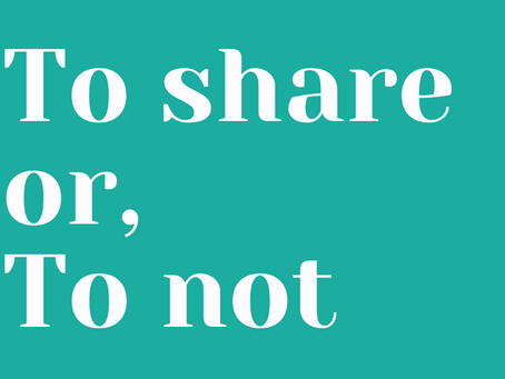 To Share or Not to Share