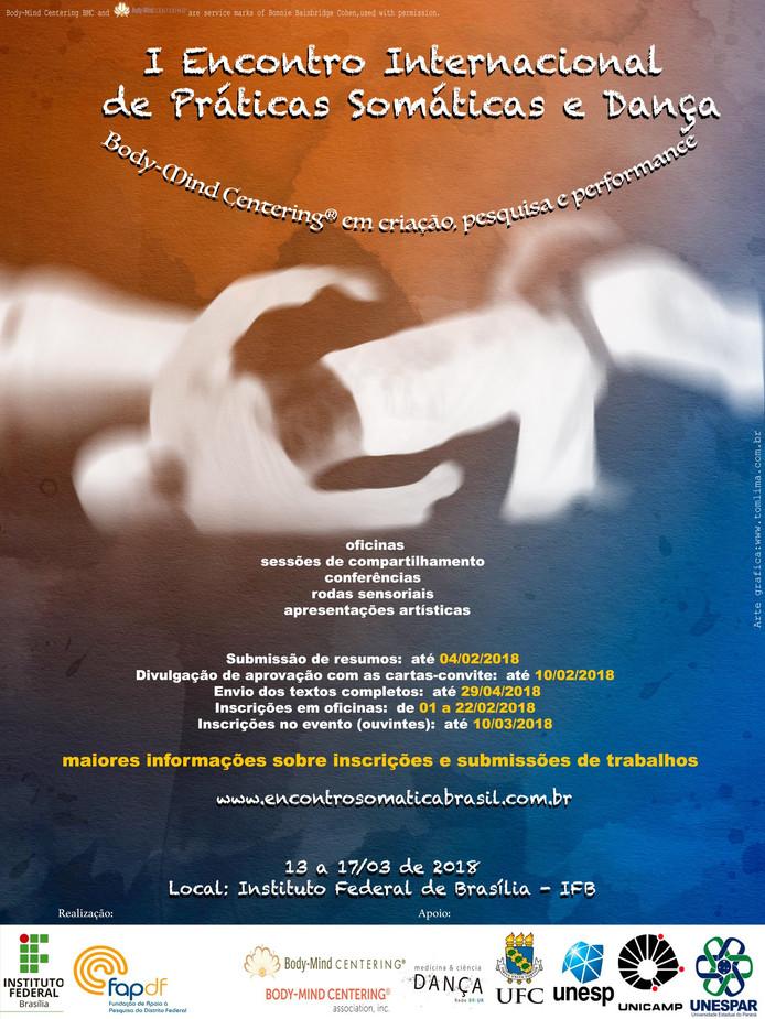 Movimento Autêntico no I Encontro Internacional de Práticas Somáticas e Dança