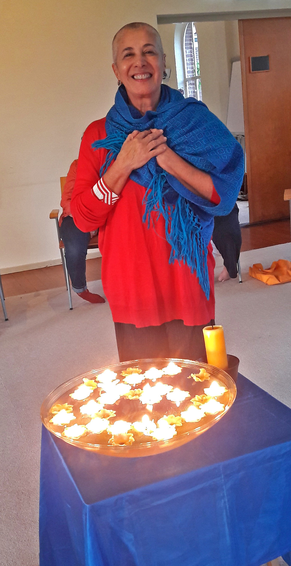 Soraya Jorge no ritual de passagem