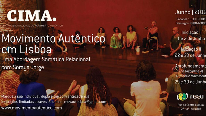 Oficinas de Movimento Autêntico, Junho 2019, em Lisboa