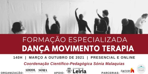 Formação Especializada Dança Movimento Terapia | Março-Outubro 2021
