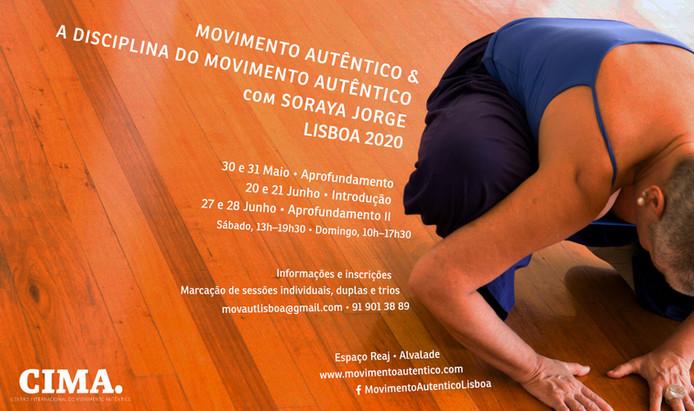 Movimento Autêntico & A disciplina do Movimento Autêntico em LISBOA 2020