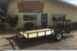 Single Axle 6 1/2 Wide Gate - Trailer Express Mfg., Sikeston, MO