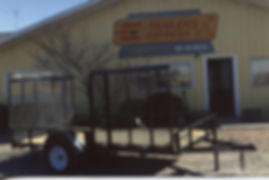 Single Axle 6 1/2 Wide Double Gate - Trailer Express Mfg., Sikeston, MO