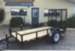 Single Axle 5x10 Gate - Trailer Express Mfg., Sikeston, MO