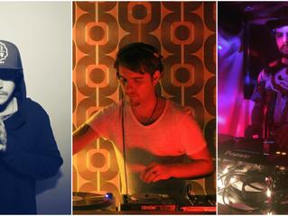 Gustavo Allendes, Camilo Gil y Bernardo Tirapeguy este miércoles en Velvet
