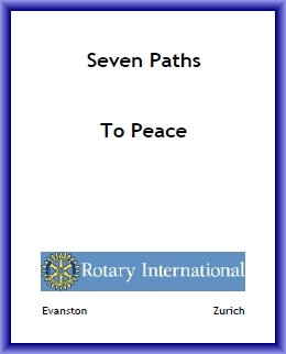 "Seven Paths to Peace - Paul Harris (E-book in PDF 8 1/2 x 11"" format)"
