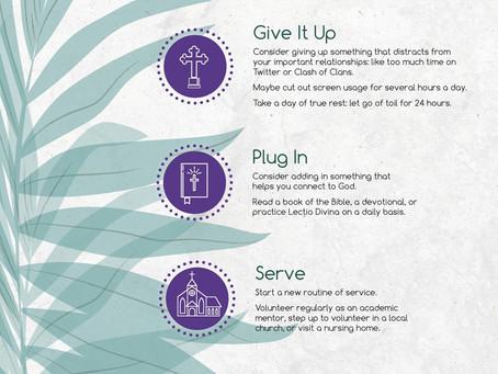 4 Ways to Observe Lent