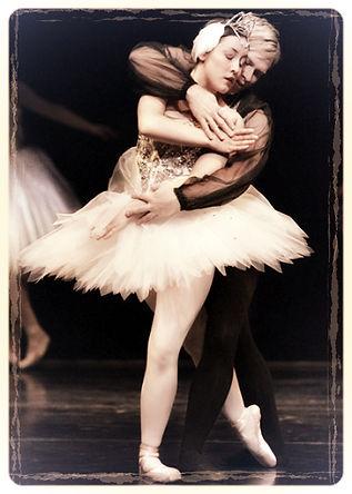 Vilija Stephens and Keir Jasper in Swan Lake Act 2