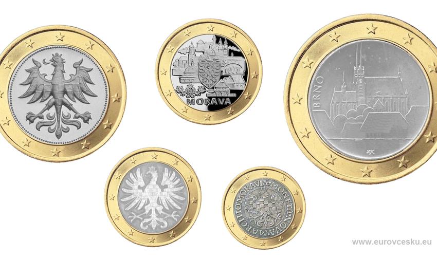 Moravské euromince