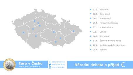 Začíná národní debata o přijetí eura v České republice