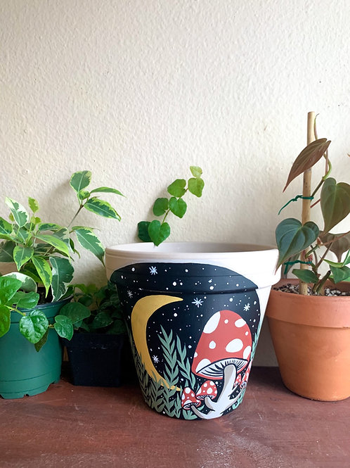Amanita Muscaria Mushroom Pot