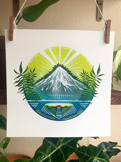 'Mt. Hood' Print