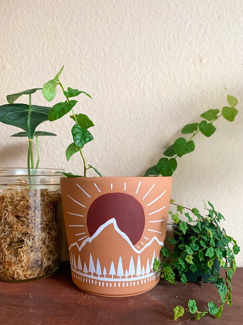 Sunrise Pot