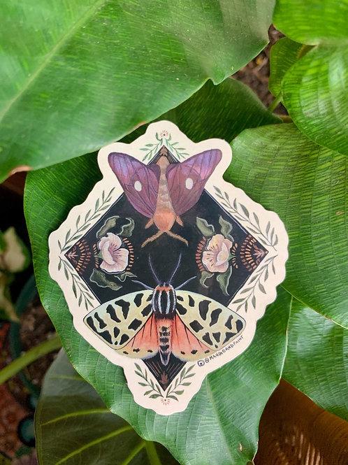 Oakworm Moth Sticker