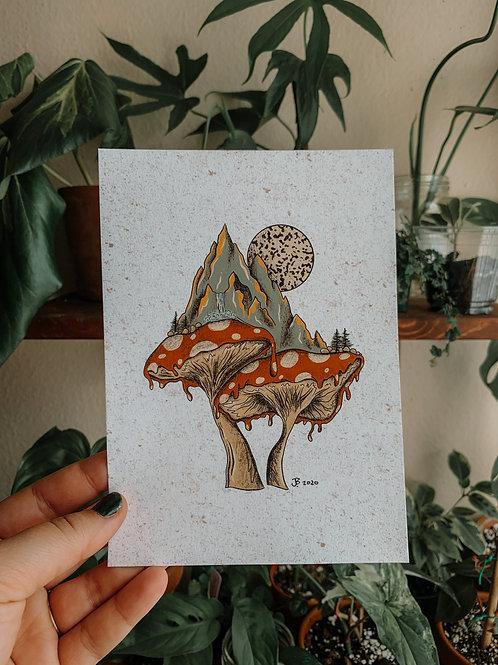 Shroom Print