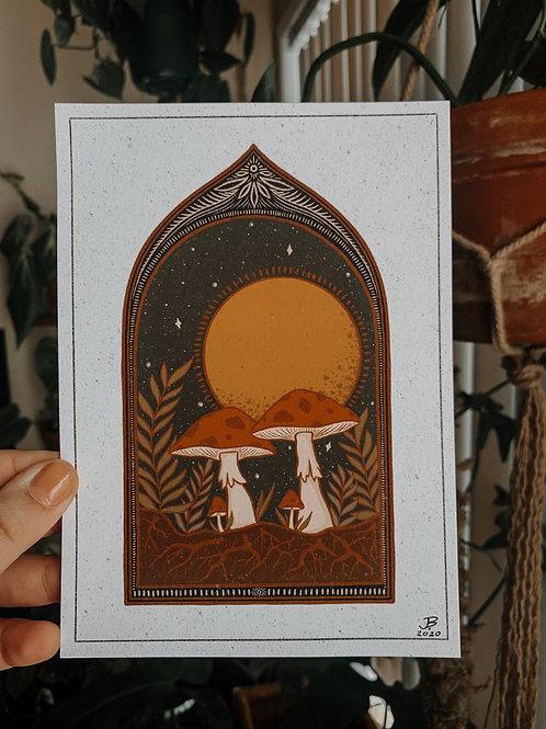 Mycelium Print