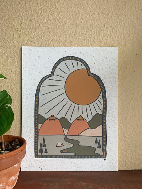 The Promise Land Print