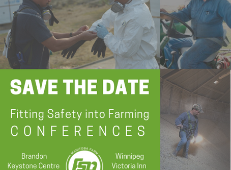 Fitting Safety into Farming 2018 Conferences