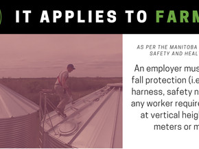 "Fall Protection - ""It Applies to Farming"""