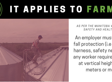 """Fall Protection - """"It Applies to Farming"""""""