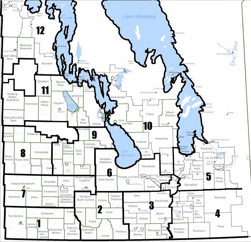 KAP district map