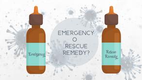 Emergency o Rescue Remedy?