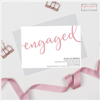 Engaged Announcement