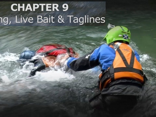 Chapter 9 Wading, taglines & live bait
