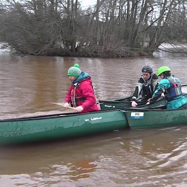 FSRT Hold on Pull Tow for 2 paddlers