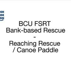 FSRT Reach-Canoe Paddle