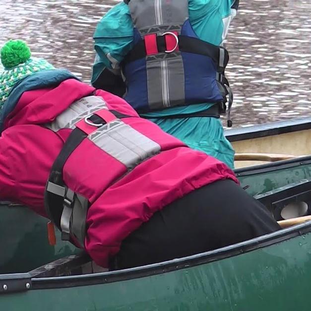FSRT Hold on Tow 2 Canoe