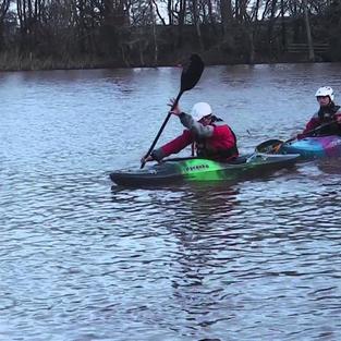 FSRT Tow with sling kayak