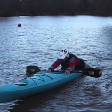 FSRT Capsize and climb back in Sea Kayak