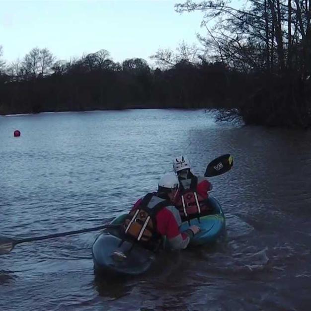 FSRT Hold on pull/tow kayak 3