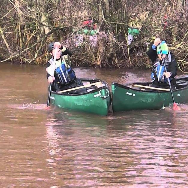 FSRT Nudge Tow 3 Canoe