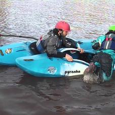 FSRT Helping a swimmer back in heel hook